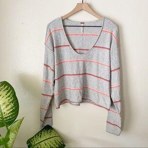 Free People | Make You Mine Striped Sweater